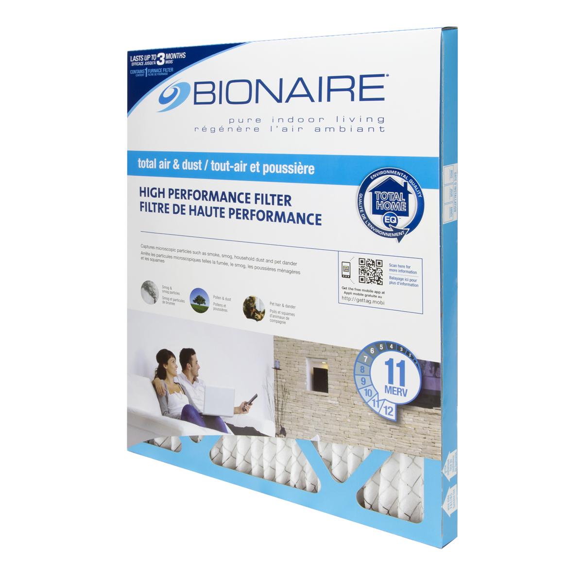 Bionaire® Total Air MERV 11 Furnace Filter - 20x20