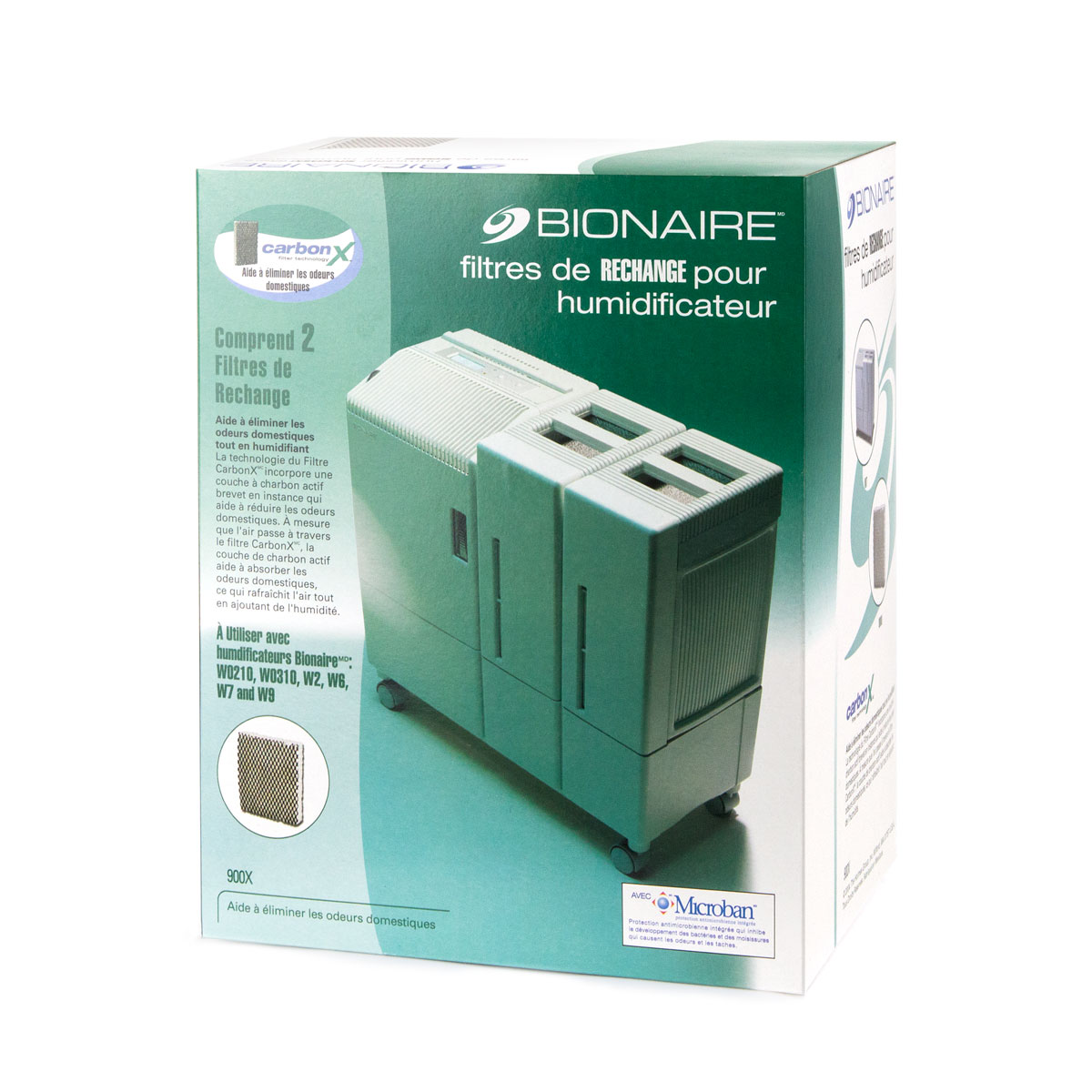 Bionaire 174 Humidifier Replacement Filters 900 X Bionaire