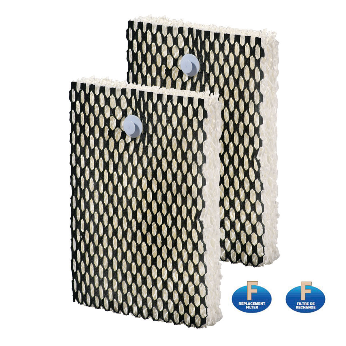 Bionaire® Washable Long-Life Cool Mist Humidifier Wick Filter, Replacement Filter F, 2-Pack