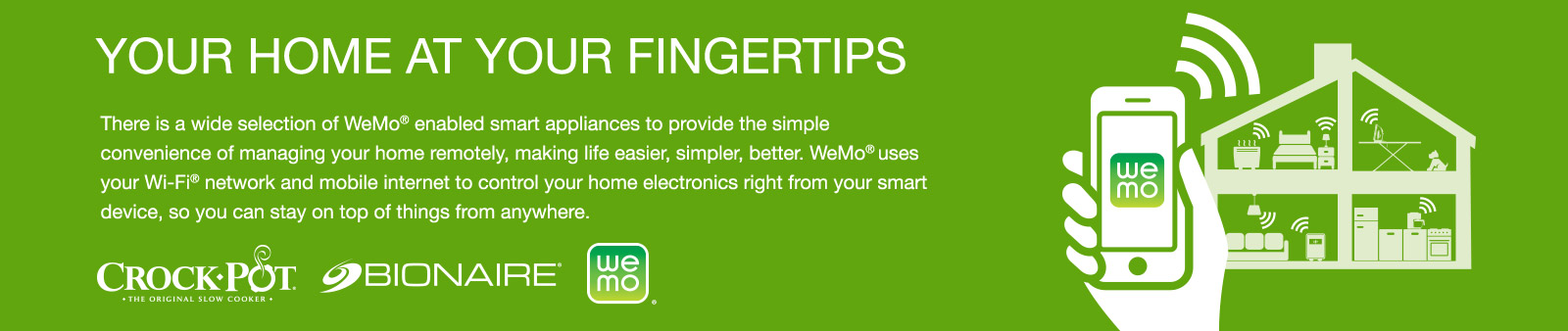 Your home at your fingertips